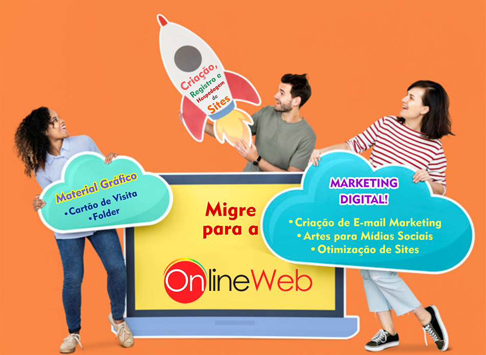 Onlineweb Criativo - Cartao de visita, folder, catalogos, banners, fachadas e sites